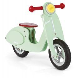 Bicicleta sin pedales verde menta Scooter