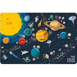 Puzzle sistema solar magnético