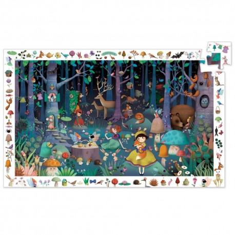 Puzzle Observación Bosque Encantado