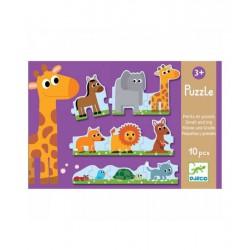Puzzle pequeñas y grandes 10 piezas