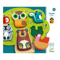 Puzzle Relieve Oski