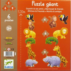 Puzzle Monitott y amigos