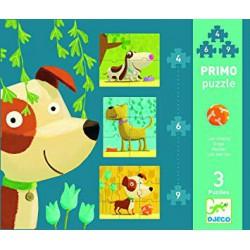 Puzzle Primos Perros