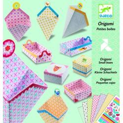 Origami. Pequeñas Cajas