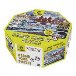 Puzzle grand tour moscú 150pcs
