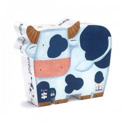 Puzzle silueta Las Vacas en la Granja