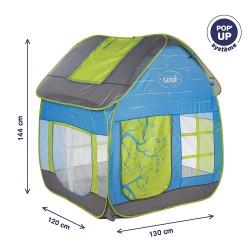 Tienda para jardín con diseño de cabaña