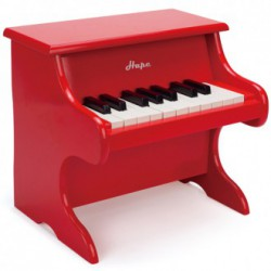 Piano rojo
