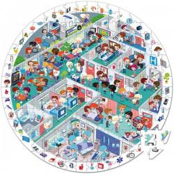 Puzle Observación Hospital