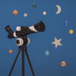 Telescopio con 15 actividades