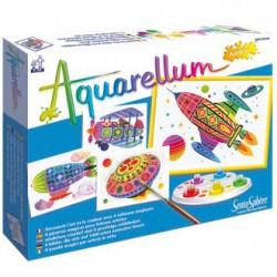 Aquarellum junior en el aire