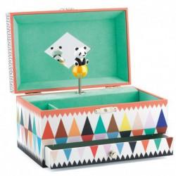Caja de música panda