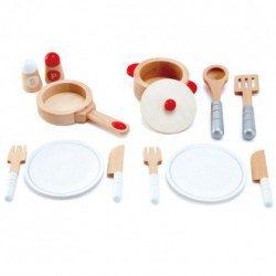 Set completo utensilios para cocinitas