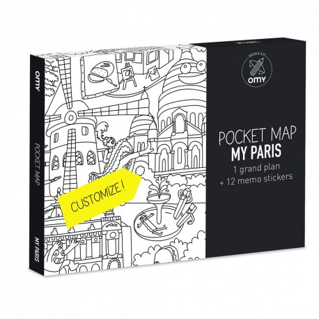 Pocket Map Paris