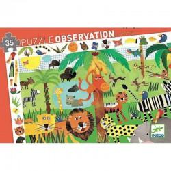 Puzzle observación La Jungla.35 piezas