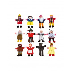 Finger Puppets 2 - 12 Characters