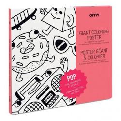 Poster Gigante para Colorear POP
