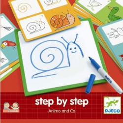 Step by step aprende a dibujar animales
