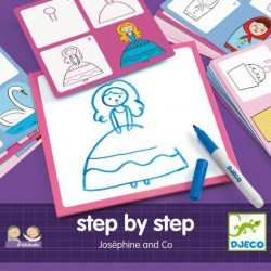 Step by Step aprende a dibujar con Josephine and Co