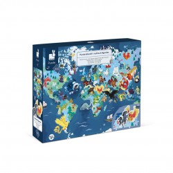 Puzzle educativo-Mitos y leyendas 350 pcs