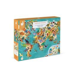 Puzzle Educativo - Los dinosaurios 200 pcs