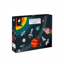 Puzzle Edicativo- Sistema Solar 100 pcs