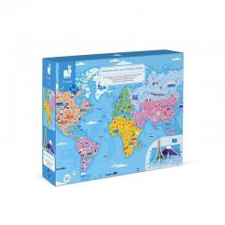 Puzzle educativo Curiosidades del Mundo- 350 pcs