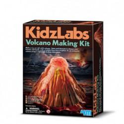 Kidz labs crea tu volcán
