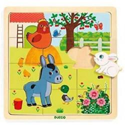 Encajable Puzzle Farm