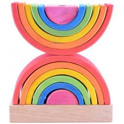 Arcoiris doble 6 colores