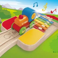 Xilófono vía de tren