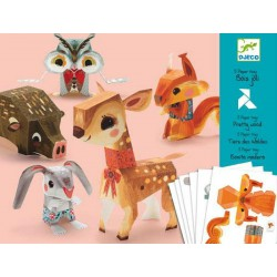 Juguetes de Papel  Animales, bonita madera