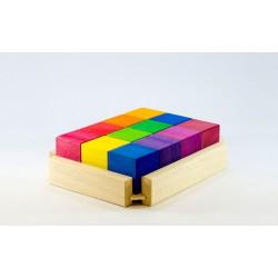 Cubos Arcoíris 12 Piezas