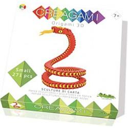 Serpiente Origami