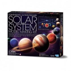 Móvil 3d sistema solar