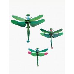 libélulas, juego de 3
