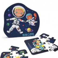 Puzzle evolutivo astronauta 4 en 1