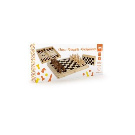 Juego de ajedrez y backgammon