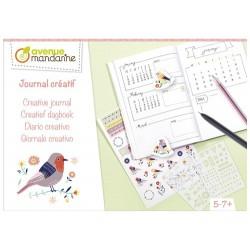 Caja creativa, Journal creativo
