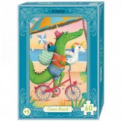 Mini puzzle Croco Beach 60...