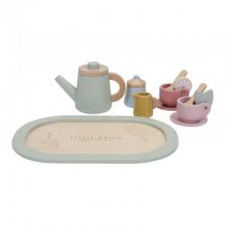 Set de té madera