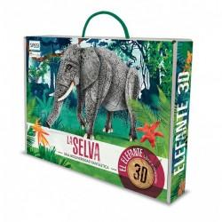 Animales 3D. La Selva. Una...
