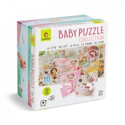 Baby Puzzle la ciudad 8+1 ,...