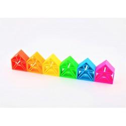 6 KIDS + 6 HOUSES COLORES NEÓN