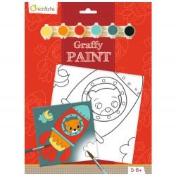Graffy Paint Oso Cohete