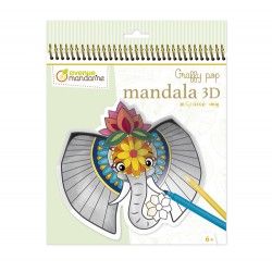 Graffy Pop Mandala 3D -...