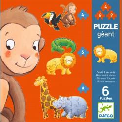 Puzzle gigante evolutivo...