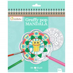 Graffy Pop Mandala, Animales