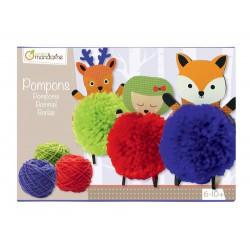 Caja creativa, Pompones