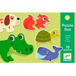 Puzzle duo Animales - 20 pcs.
